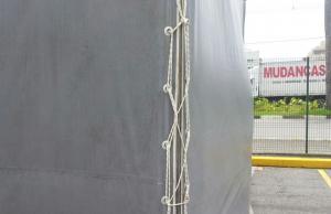 Detalhe do fechamento lateral